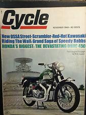 1968 Cycle November Back Issue Magazine
