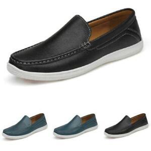Mens Driving Moccasins Shoes Pumps Hollow out Soft Comfy Breathable Walking 45 L