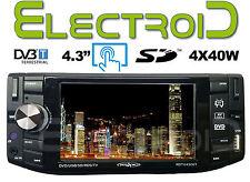 """AUTORADIO 1 DIN 4.3"""" IRRADIO DTV 4300T TV E LETTORE DVD INTEGRATO SINTONIZZATORE"""