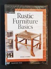 DVD - Doug Stowe - Rustic Furniture Basics
