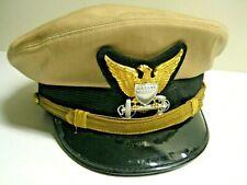 /Us Coast Guard Officer Dress Visor Cap khaki,7 3/8