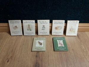 7 Beatrix Potter books, Jonny Town mice, Tom Kitten, Pigling Bland etc