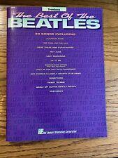 Best of the Beatles Trombone Music Book Brass Horn
