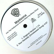 Madonna MINT JAPAN PROMO ONLY Vinyl YOUR HONESTY & INTO THE HOLLYWOOD GROOVE Gap