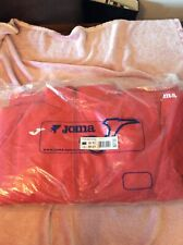 Bnwt Joma Waterproof Hooded Anorak - Everest Red - XL