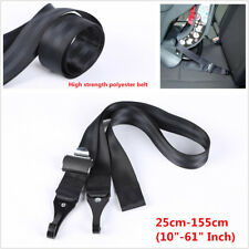 Universal Double-Hooks ISOFIX Latch Connector Seat Belt For Car Baby Safety Seat