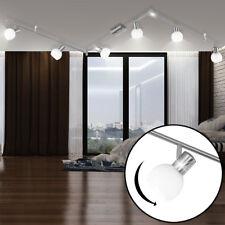 LED Decken Leuchte 6-er Glas Kugel Spot Strahler Balken Lampe Arme verstellbar