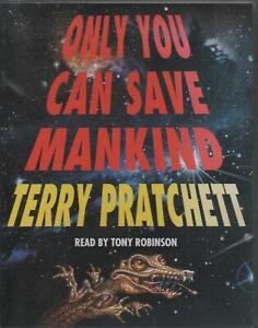 ONLY YOU CAN SAVE MANKIND (Johnny Maxwell) Terry Pratchett 2-Cassette Set