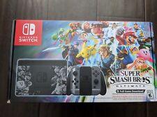 Nintendo Switch Super Smash Bros Ultimate Edition Console Bundle