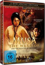 MUSA - THE WARRIOR E PRINCIPESSA OF DESERT 2 DVD Box LIMITATA EDITION Nuovo