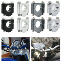 "7//8/"" 22mm Offset HandleBar Risers Bar Mount Clamp For Yamaha DT125 2000-2004"