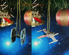 Decoration Home Ornament Xmas Decor Star Wars Tie Fighter vs X Wing K1265 AB