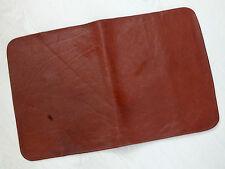 Vera Pelle Marrone Buffalo Pelle 64 x 40 cm Cuscino TOPPER PAD di raffreddamento cura