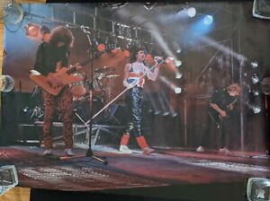 Def Leppard VINTAGE Poster ORIGINAL IN SLEEVE! - EXCELLENT CONDITION!