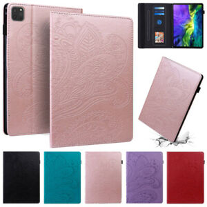 Flip PU Leather Smart Wallet Case Cover for iPad 9.7 10.2 Air 3 4 Pro 11 Mini 5