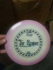 Discraft Reaper 175 Grams Beautiful Off White  00004000 With Pink Halo Rim Rare Oop