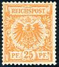 DR 1898, MiNr. 49 ba, ungebraucht, gepr. Zenker, Mi. 85,-