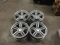 """19"""" 351M M Sport Style Wheels Hyper Silver BMW F10 F11 E90 E92 F30 F32 E46 Z4"""