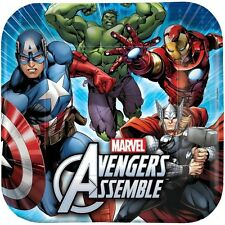 Avengers 23cm Party Plates Pack of 8