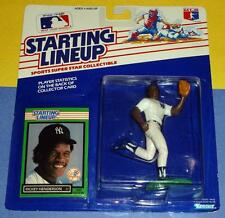 NM+ 1989 RICKEY HENDERSON final New York Yankees - low s/h - Starting Lineup