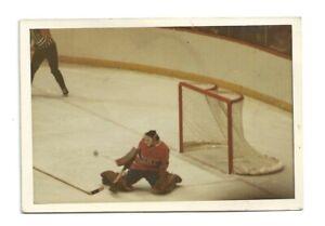 Vintage NHL original photo / Montreal Canadiens goalie / 1970's