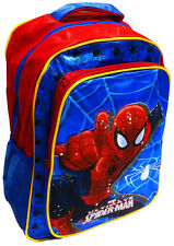 NEW LARGE BACKPACK SPIDERMAN SCHOOL BAG KIDS BOY DAYCARE GIFT PRESCHOOL PICNIC