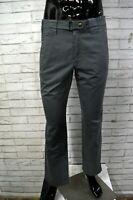Jeans BELSTAFF Uomo Vita Alta Chino Grigio Taglia 42 Pantalone Pants Regular