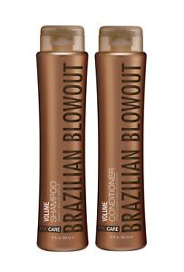 Brazilian Blowout ProCare VOLUME Shampoo / Conditioner - 12 oz | Free Shipping !