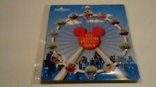 Disney pin HKDL Fun Day 2015 Hidden Mickey Magical Ferris wheel 14 pin set