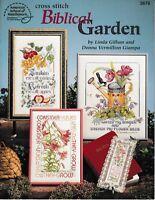 Biblical Garden Cross Stitch | American School of Needlework 3676 Bible God NEW!