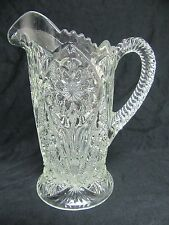 Antique Imperial Glass #474 Pressed Glass Milk Pitcher