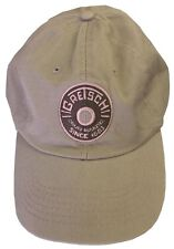 Gretsch DRUMS MAKERS Round Badge Embroidered Logo Adjustable STONE Hat Official