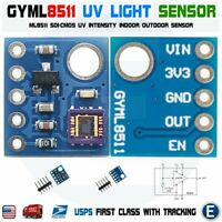 GY-8511 ML8511 UVB UV Rays Sensor Breakout Test Module Detector For Arduino USA