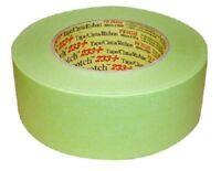 3M 26340 Scotch Performance 233+ Green Masking Tape, 1 roll