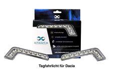 Dacia LED Tagfahrlicht + R87 Modul L-Form TFL1