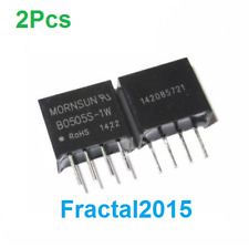 2Pcs B0505S-1W DC-DC 5V Power Supply Module 4 Pin Isolated converter