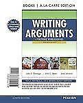Writing Arguments : A Rhetoric with Readings, Brief Edition, Books a la Carte E…