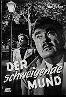 """IFB Illustrierte Film Bühne Nr. 1282 """" Der schweigende Mund """""""