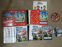 WII New Super Mario Bros + Smash Bros Brawl Complete VIP points Disc nr mint