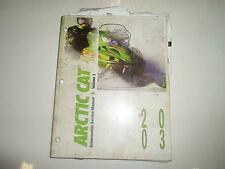 2003 Arctic Cat Snowmobile Service Repair Shop Manual Volume 1 Factory Oem 03