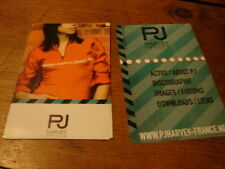 PJ HARVEY FRENCH WEBSITE!!!!!DIF!!!!!!RARE FRENCH FLYER