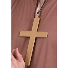 Prete Vicar Monk Suora Costume Cross Suore Croce Crocifisso nuovo da Smiffys
