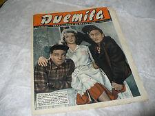 DUEMILA SETTIMANALE DI AVVENTURE N.7 1951 RARA RIVISTA FOTOROMANZI ZAMMI VICARI