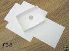 """FB-8 Fold up boxes 100 count White 5 1/8"""" X 3 3/4"""""""