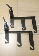 Manfrotto TWO Clamps, Holder Hooks (045) with 2 Superclamps (035)