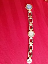 Auth Gianni Versace Gold Plated Bracelet Watch