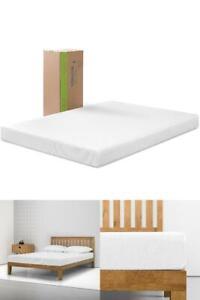 6 in Memory Foam Mattress Bed Firm Sleep Spa Sensation Full Queen King Twin Size