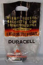 DURACELL mascotte Bear Orsetto in Canoa confezione chiusa originale rarissima