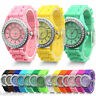 Fashion Silicone Watch Crystal Jelly Watches Women Student Sport Watch