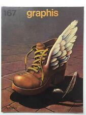 Graphis 167 Vintage International Design Advertising Illustration 1973-74 Herdeg